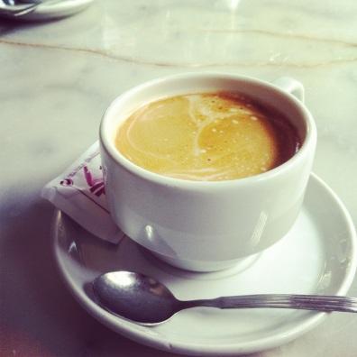 Cafe con leche.