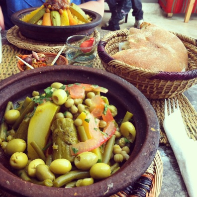 Vegetable tagine- Marrakech, Morocco.