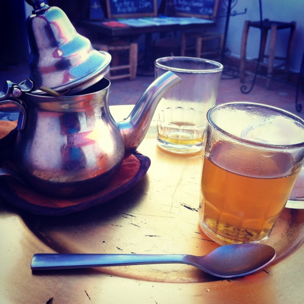 Tea time in Marrakech.