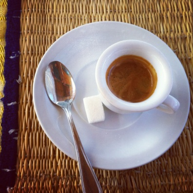 A Marrakech espresso moment.