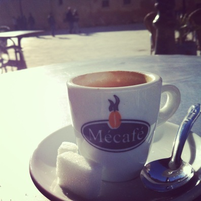A caffeinated moment in Fes, Morocco.