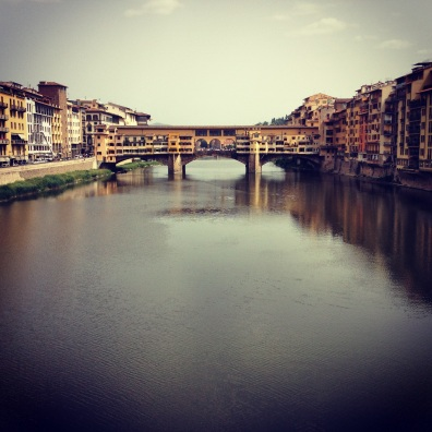 Ponte Vecchio reflections