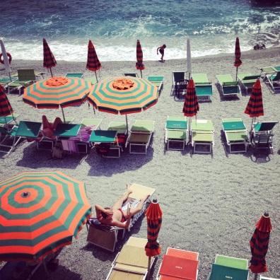 candy colors in Monterosso al Mare