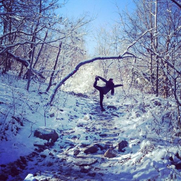 winter wonderland in Beacon, NY